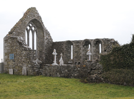 Augustinian Monestry on Saints Island, Cashel