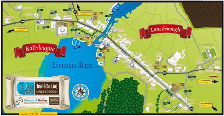 Map of Lanesborough/Ballyleague