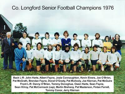 Rathcline 1976 winning team