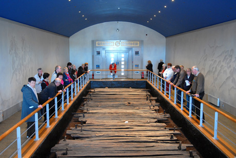 Iron Age Trackway at the Corlea Visitor Centre
