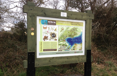 Woodland Walk Map Board