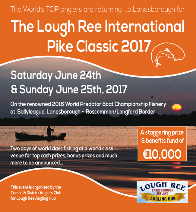 Lough Ree International Pike Classic 2017