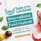 Taste of the Lakelands International Food Festival 6th-8th October 2017
